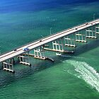 Crossing the Rickenbacker Causeway by Kasia-D