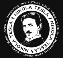 Nikola Tesla  by Brigid Ashwood