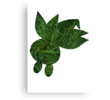 Oddish used Grasswhistle Canvas Print