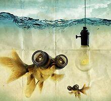 Lens eyed fish idea by vinpez