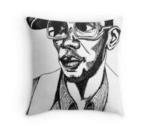 Mighty Mos Def Throw Pillow