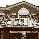 Route 66 - Lincoln Theater by Frank Romeo