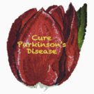 Cure Parkinson's Disease - Tulip of Love by Sacha Whitehead