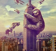 King Sloth by Alex & Marco Mitolo