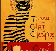 Chat du chesire by Harantula