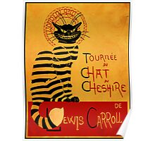 Chat du chesire Poster