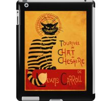 Chat du chesire iPad Case/Skin