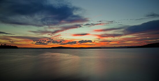 Swansea Sunset zones #2 by bazcelt