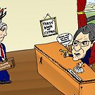 Crisis in Cyprus Banks Cartoon by Binary-Options