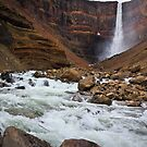 Hanging Falls of Iceland by Silken Photography