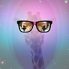 My Giraffe Geek by aureliescour