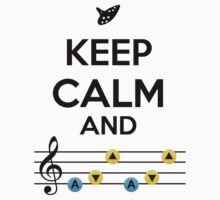 Keep Calm & Play Song of Storms by graydient