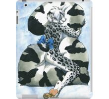 Snow Leopard Boy iPad Case/Skin