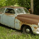 Rusty Old Dodge Car by Tina Hailey