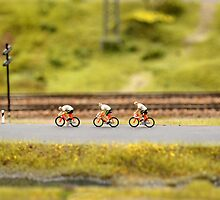cyclists on the road  by mrivserg