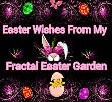 My Fractal Easter Garden by Charldia