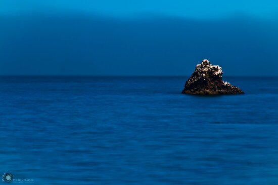 Alone upon the deep blue sea by Jarrod Ball