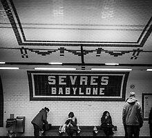 Paris Signature Series Metro 12/15 by lesslinear