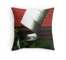 Uncurled  Throw Pillow
