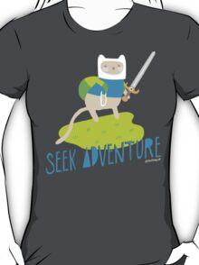 """Seek Adventure"" Kitty T-Shirt"