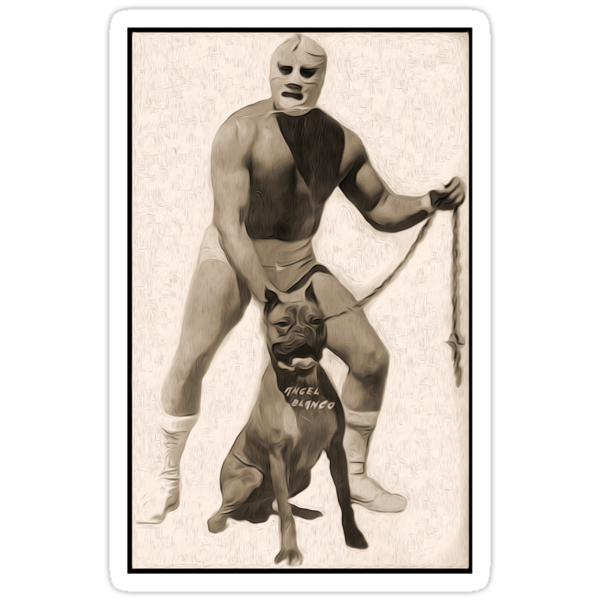 Angel Blanco, Classic Mexican Wrestler by GregorDyer