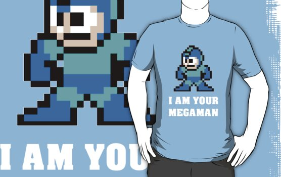 I AM YOUR MEGAMAN by Vinchtef