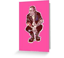 Punk Nine Greeting Card