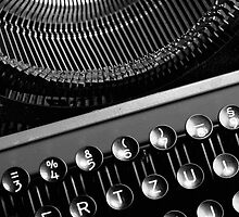 Typewriter 2 by Falko Follert