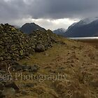 Dry stone wall. by Peter Skillen