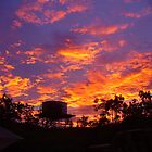 Fiery Kimberley Sunset by overtherange