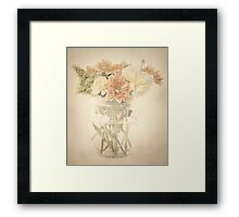 A Posy of Flowers Framed Print