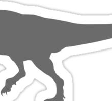 Dino-corn Dark Sticker