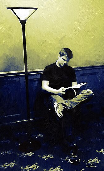 Ten O'Clock Scholar by RC deWinter