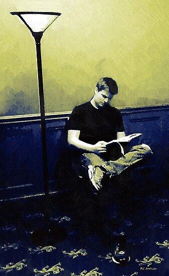 Ten O'Clock Scholar by RC deWinter