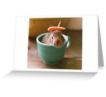 bunnycup Greeting Card
