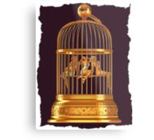 Bird Cage Metal Print