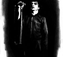 Ian Curtis by Tbevie