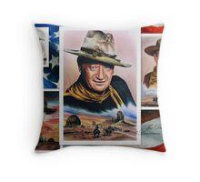 The Duke American Legend Throw Pillow