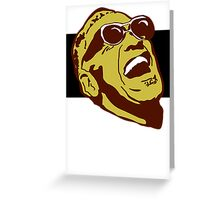 Ray Charles Greeting Card