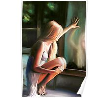 Through a GLass Darkly (pastels) Poster