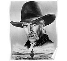 Sam Elliot  Lone Rider Poster