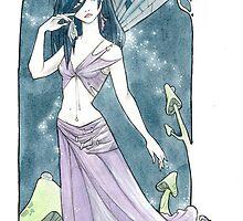 Blue Fairy by Maryanneleslie