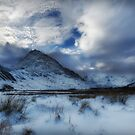 Winter at Tryfan by Beverly Cash