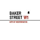 Sherlock Holmes Baker Street by gkcrdgn