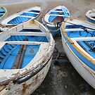 Boats-Capri by Christopher Clark