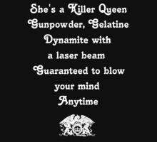 Queen - Killer Queen by Cymunt