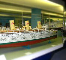 Model ship - tilt shifted by PhotosByG