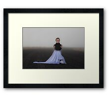 Goddess Presiding Over Solitude Framed Print