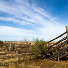 cattle yards Maude road, Hay by outbacksnaps