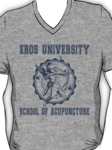 Eros University School of Acupuncture - Fictional College Shirt - Cupid Acupuncture School T-Shirt